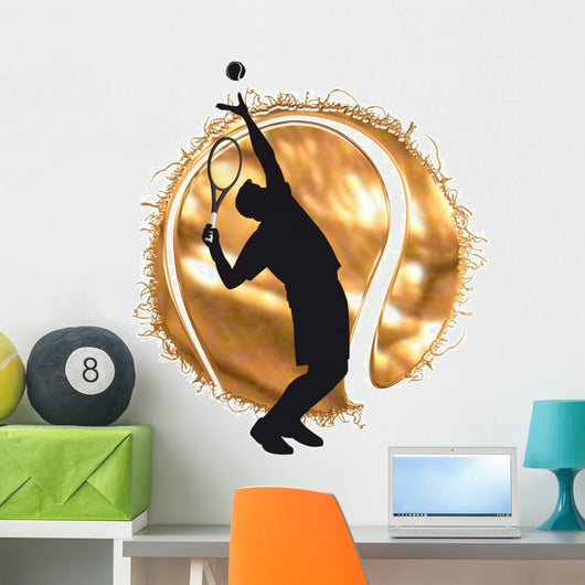 tennis Wall Decal