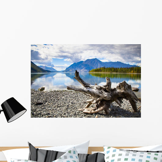 Lake Kathleen In Kluane National Park And Reserve Wall Mural