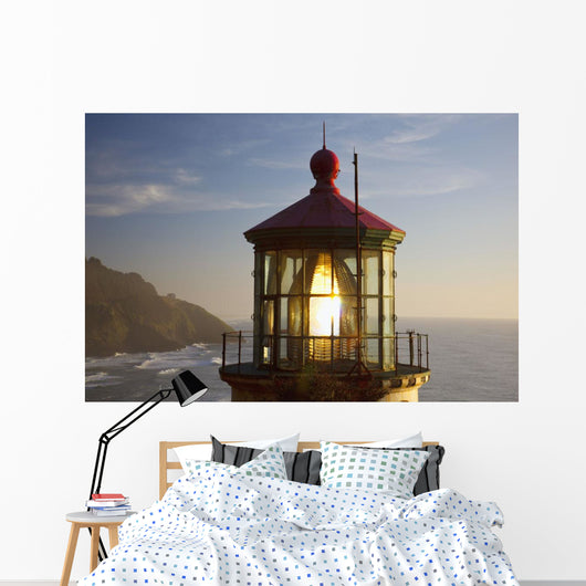 Heceta Head Lighthouse Along The Oregon Coast Wall Mural