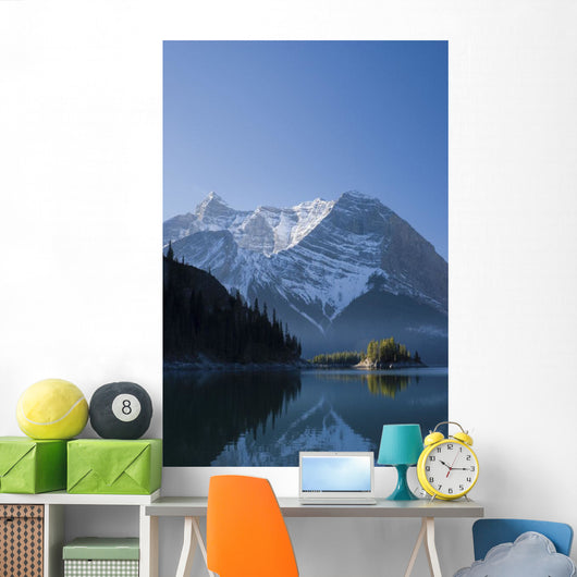 The Upper Lake At Sunrise Wall Mural