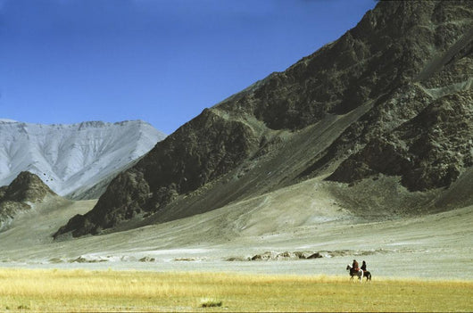 Local Horsemen In Pamirs Mountains,Xinjiang,China Wall Mural