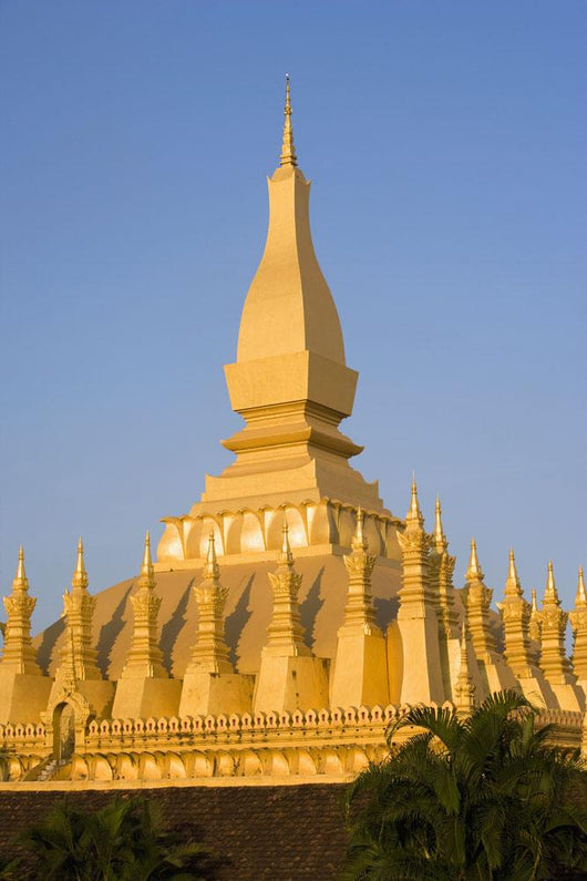 That Luang,Or Grand Stupa, Vientiane,Laos Wall Mural