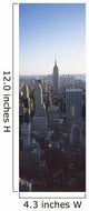 Panoramic View Of Empire State Building Wall Mural