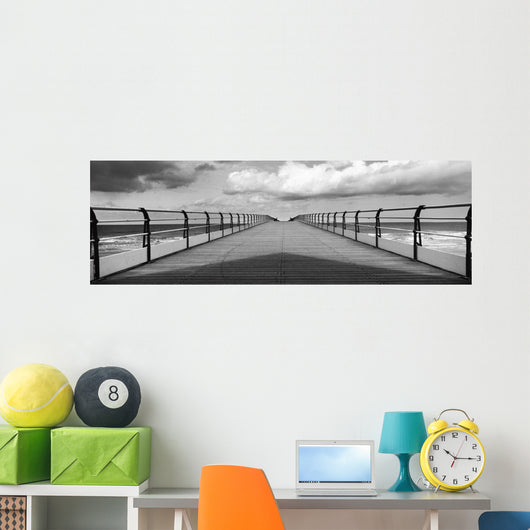 Pier Of Saltburn-By-The-Sea Wall Mural