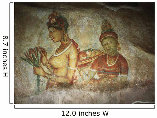 5Th Century Cave Frescoes Wall Mural