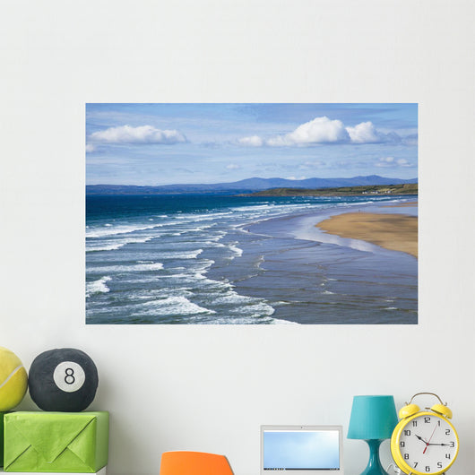 Waves On Beach Wall Mural