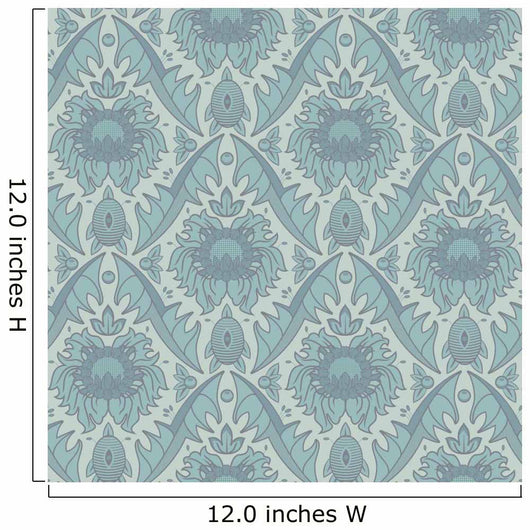 seamless vintage wallpaper pattern Wall Mural