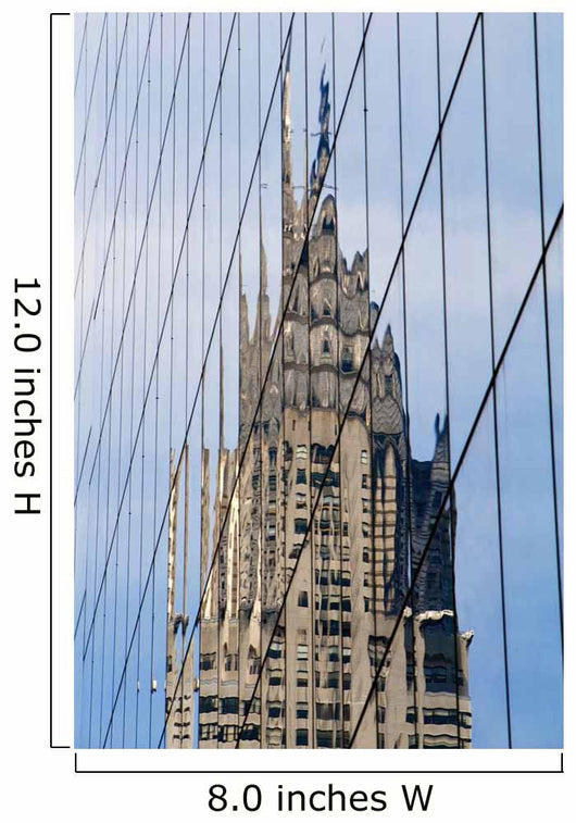Chrysler Building's Reflection, Wall Mural