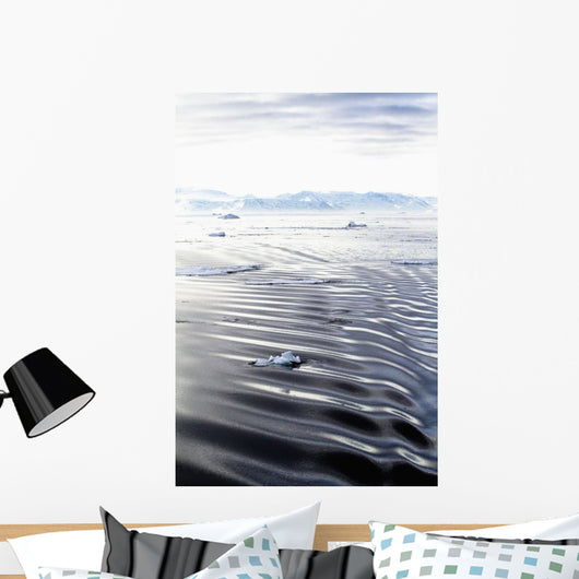 View Of The Mountainous West Coast Of Greenland Greenland Wall Mural