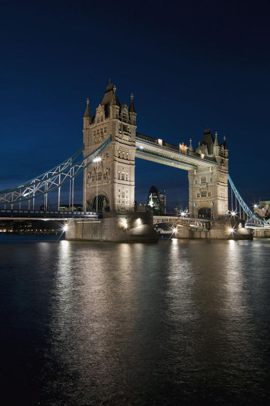 Tower Bridge at dusk Wall Mural