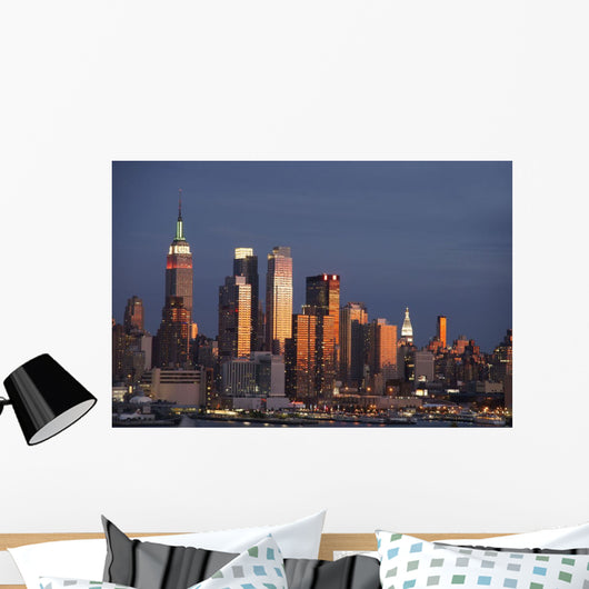 New York City, New York Wall Mural