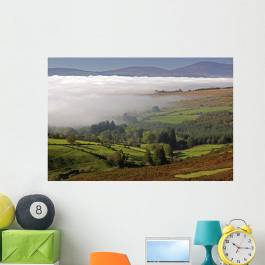 Nire Valley Landscape Wall Mural