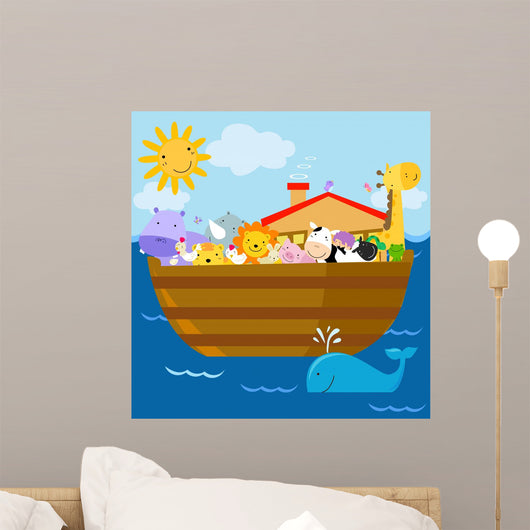 Bright Noahs Ark Wall