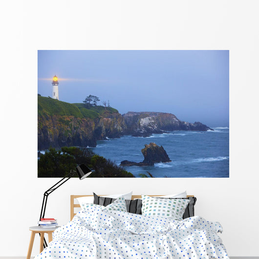 Yaquina Head Lighthouse Wall Mural