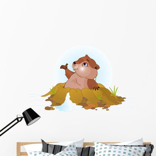 Groundhog Day Wall Decal
