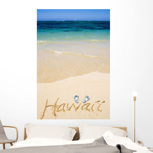 USA, Hawaii, Ocean in background Wall Mural