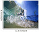 Hawaii, Oahu, North Shore, Underwater wave Wall Mural