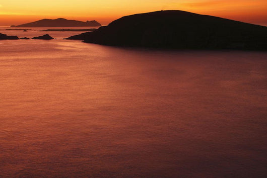 Sunset Over Dunmore Head And The Blasket Islands Wall Mural