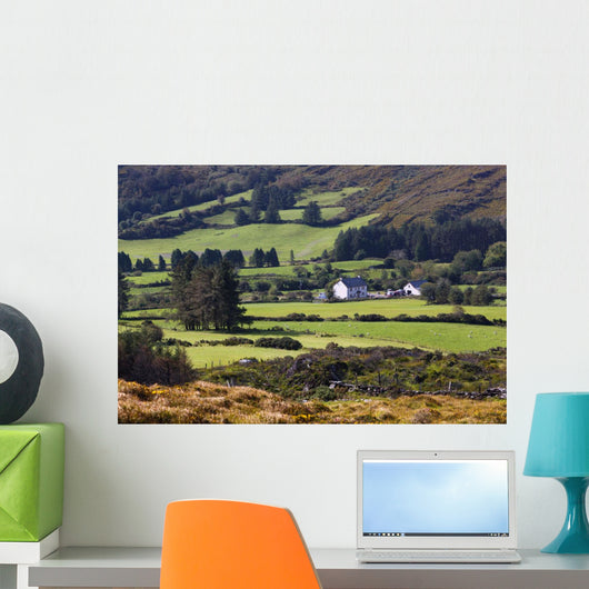Farmland Near Kilgarvan Wall Mural