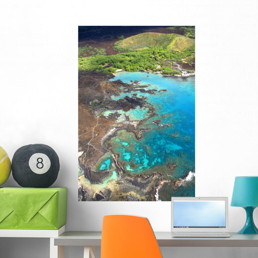 USA, Hawaii, view from above Wall Mural