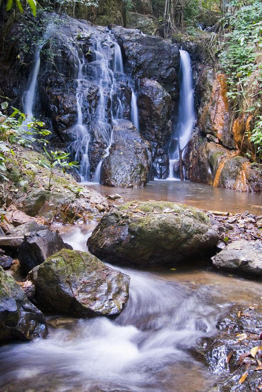 Thailand, tributary falls Wall Mural