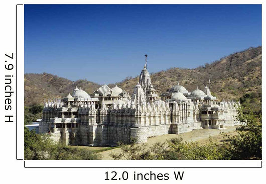 India, Rajasthan, Ranakpur, The Jain Temple Of Ranakpur Wall Mural