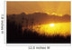 Hawaii, Maui, Sunset Over Hillside Wall Mural