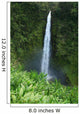USA, Hawaii Islands, Big Island, View Of Misty Falls Wall Mural