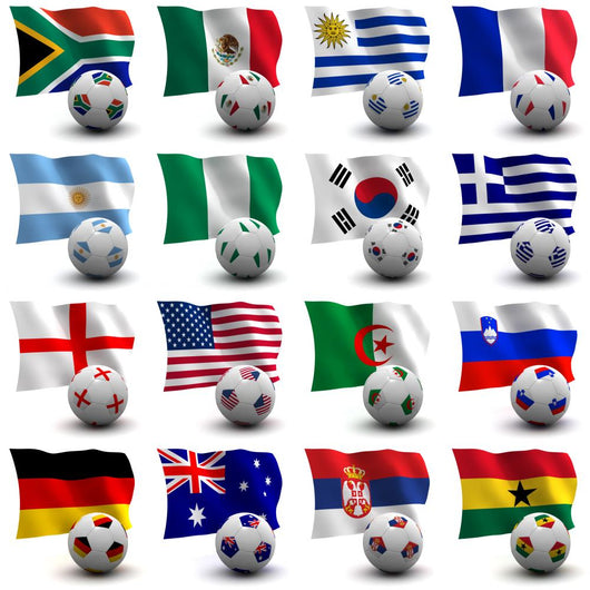 World Cup Soccer - South Africa 2010 Wall Decal