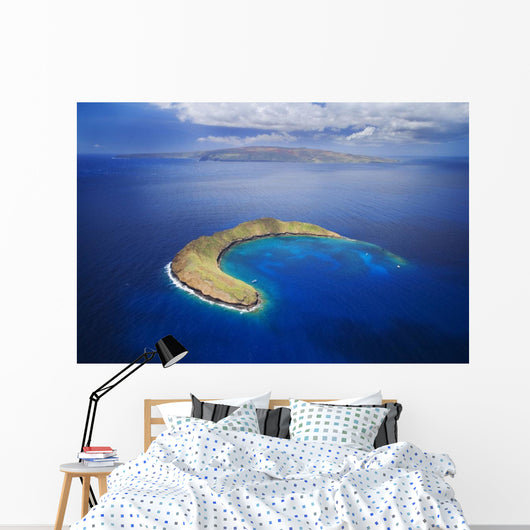 USA, Hawaii, Molokini and Kaho'olawe Wall Mural