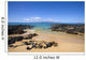 USA, Hawaii, Maui, Secret Beach of Kahoolawe and Molokini Islands Wall Mural