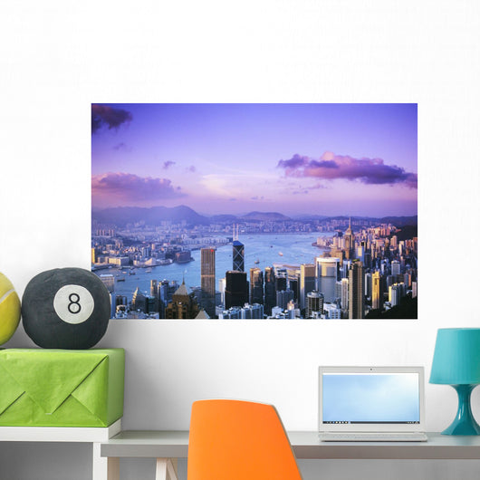 Pink And Purple Sky Wall Mural