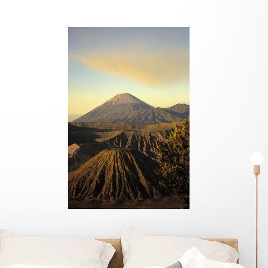 View Of Craters Ingolden Light Wall Mural