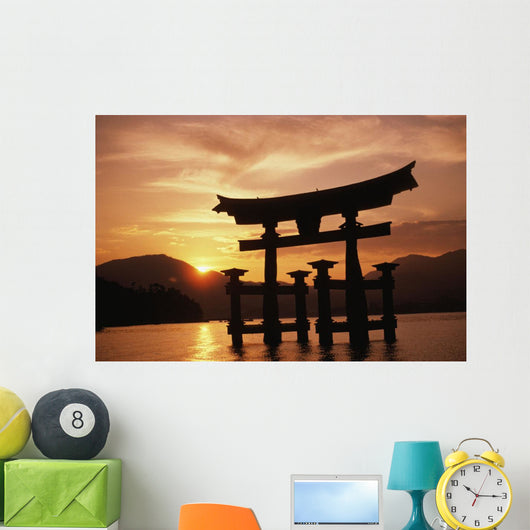 Peaceful Sunrise Wall Mural