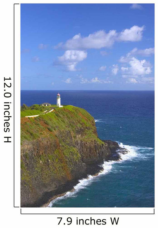 Kilauea Point Lighthouse At Kilauea National Wildlife Refuge Wall Mural