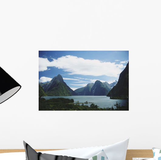 New Zealand, Fiordlands National Park, Milford Sound Wall Mural