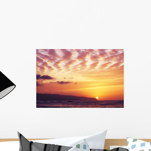 Dramatic Clouds Wall Mural