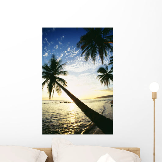 Bright Golden Reflections Wall Mural
