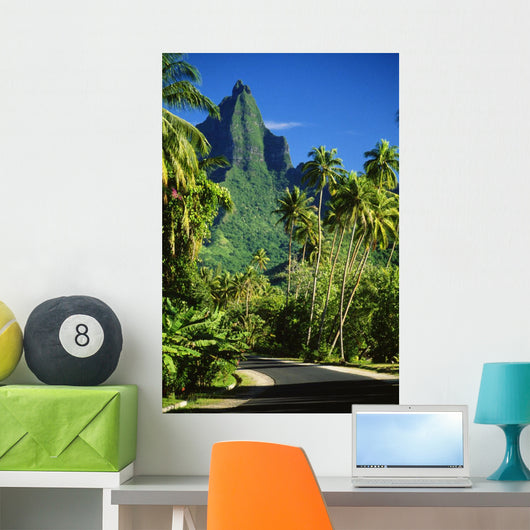 Tropical Green Surroundings Wall Mural