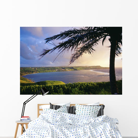Silhouette Of Palm Tree Wall Mural