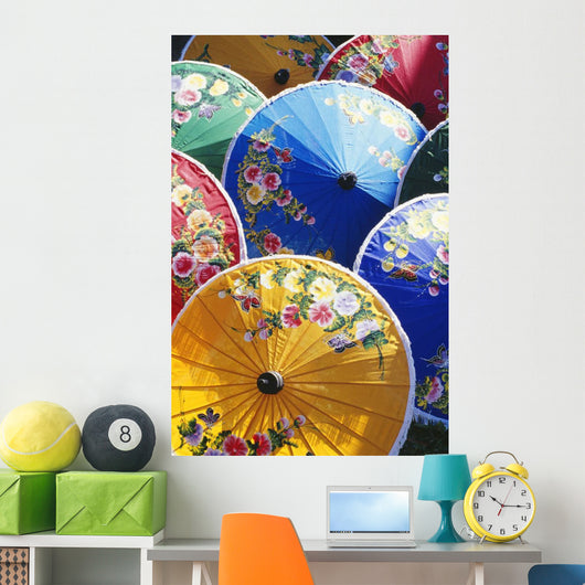 Variety Of Colors Wall Mural