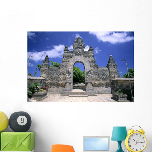Exterior Architecture A63H Wall Mural