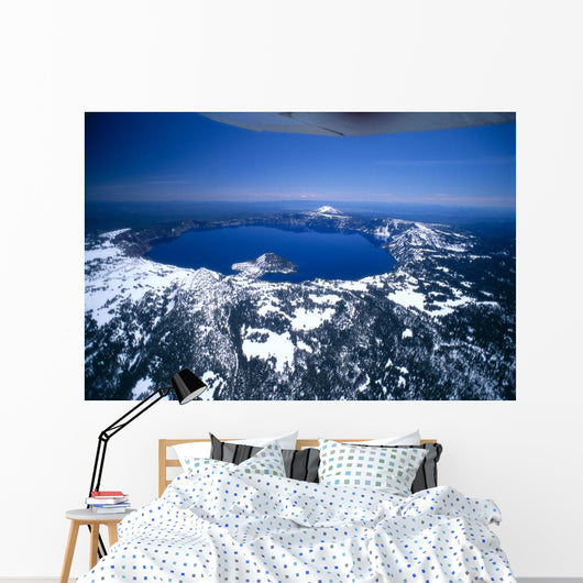 Clear Blue Sky Background A51H Wall Mural