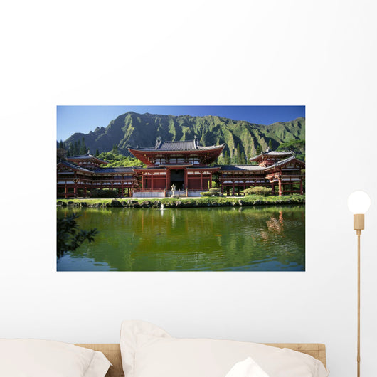 Ko'olau Mountains Background Japanese Religion A42D Wall Mural