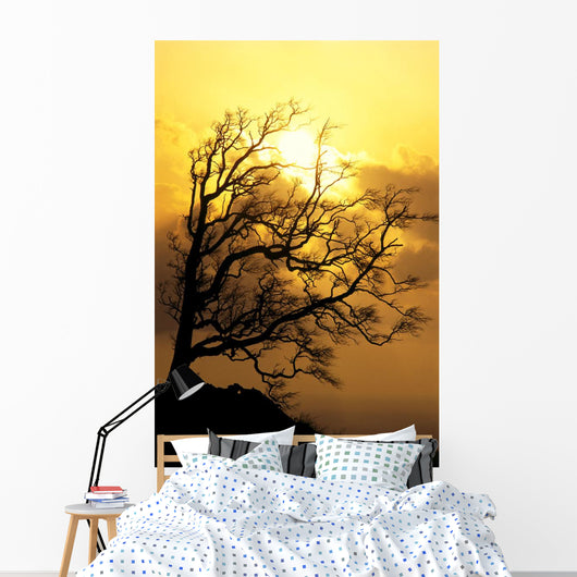 Golden A25F Wall Mural