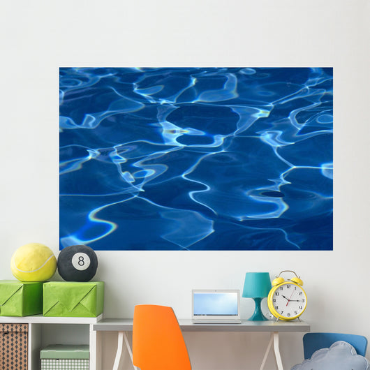 Reflections Of Pool Surface, Patterns A32F Wall Mural