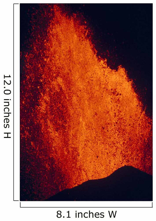 Close-Up Of Fountaining Kilauea Volcano Eruption A26F Wall Mural
