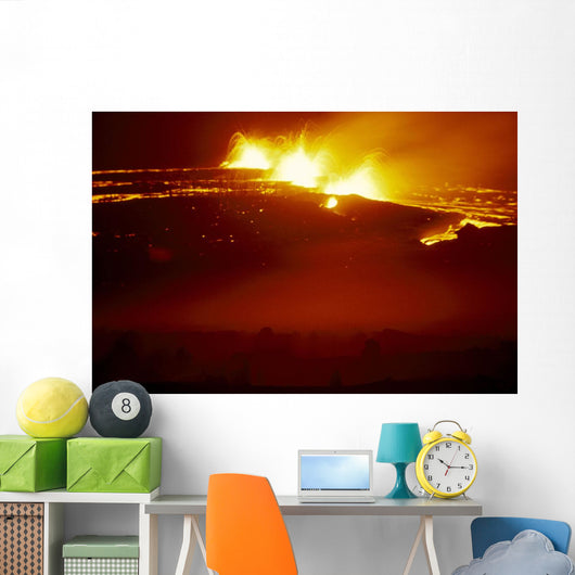 Lava Flow A28A Wall Mural