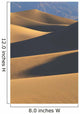 California, Death Valley National Forest, Mesquite Flat Sand Dunes Wall Mural