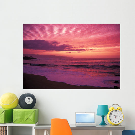 Pink Yellow And Orange Skies Wall Mural